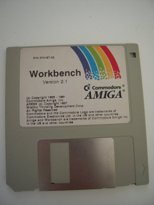 Amiga Workbench Disketten 2.1